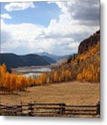 Autumn In Colorado Metal Print