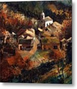 Autumn In Frahan Metal Print