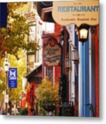 Autumn In Jim Thorpe Metal Print