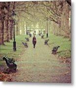 Autumn In London Metal Print
