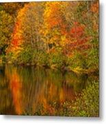Autumn In Monroe Metal Print