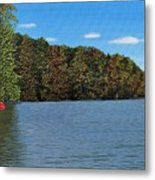 Autumn In Muskoka Metal Print