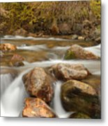 Autumn In Provo Canyon Metal Print