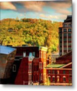 Autumn In Roanoke Metal Print