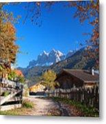 Autumn In South Tyrol Metal Print