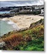 Autumn In St Ives Metal Print