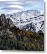 Autumn In Switzerland Metal Print