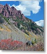Autumn In The Aspen Hills Metal Print