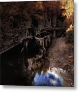 Autumn In The Canyon Metal Print