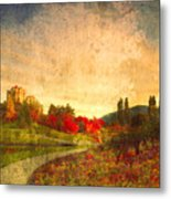 Autumn In The City 2 Metal Print