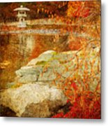 Autumn In The Gardens Metal Print
