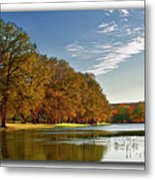 Autumn In The Hill Country Metal Print