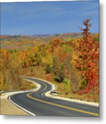 Autumn In The Hockley Valley Metal Print
