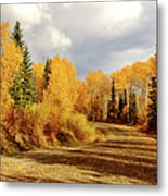 Autumn In The North Metal Print