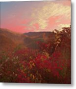 Autumn In The Rolling Hills Metal Print