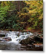 Autumn In The Smokies Metal Print by Andrew Soundarajan