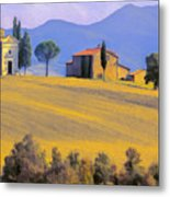 Autumn In Tuscany Metal Print