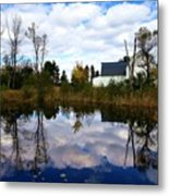 Autumn Is Colorful Metal Print