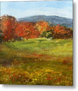 Autumn Is Here Metal Print