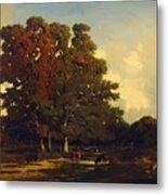 Autumn Landscape 1850 Metal Print