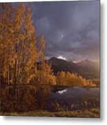 Autumn Landscape Near Telluride Metal Print