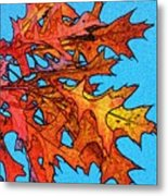 Autumn Leaves 14 Metal Print