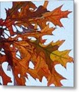 Autumn Leaves 21 Metal Print