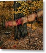 Autumn Linens Metal Print