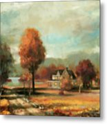 Autumn Memories Metal Print