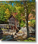 Autumn Mill 2 Metal Print