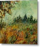 Autumn Mist 68 Metal Print