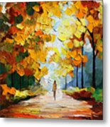 Autumn Mood Metal Print