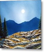 Autumn Moon Metal Print