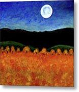 Autumn Moon I Metal Print