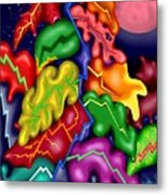 Autumn Night I Metal Print