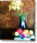 Autumn On A Table Metal Print