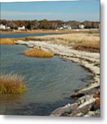 Autumn On The Bass River II Metal Print