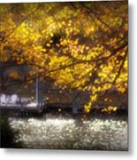 Autumn On The Cove Metal Print