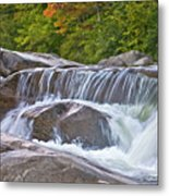 Autumn On The Kancamagus Metal Print