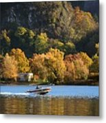 Autumn On The Lake Metal Print