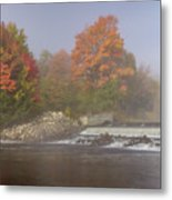Autumn On The Moose II Metal Print