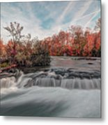 Autumn On The Niagara Metal Print