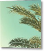 Autumn Palms II Metal Print