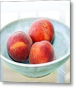 Autumn Peaches Metal Print