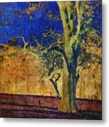 Autumn Pecan Metal Print