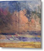 Autumn Pond Metal Print