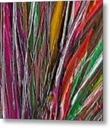 Autumn Reeds Metal Print
