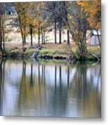 Autumn Reflection 16 Metal Print