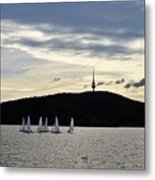 Autumn Regatta Metal Print