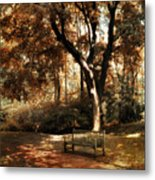 Autumn Repose Metal Print